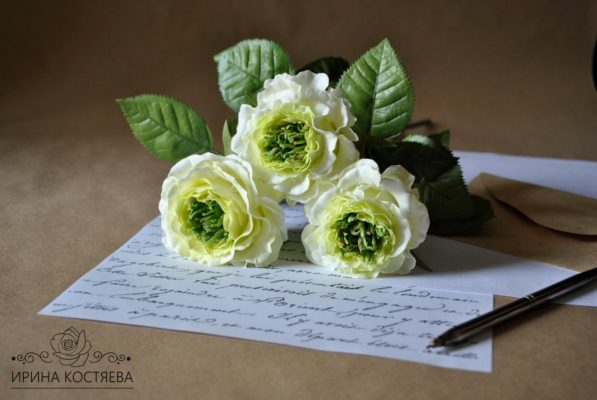 роза из фоамирана мастер-класс